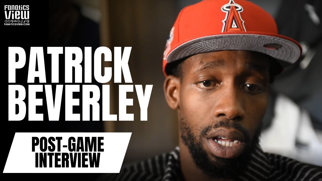Patrick Beverley speaks on the Clippers' comebacks & talks Montrezl Harrell
