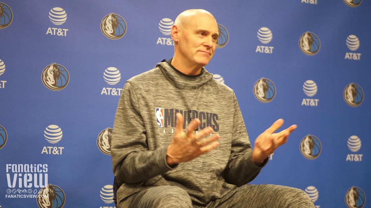 Rick Carlisle Speaks About Dennis Smith Jr, Kristaps Porzingis Rehab & New York Knicks - Fanatics View