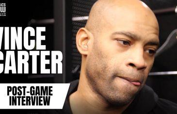 Vince Carter talks about playing against Toronto, Raptors NBA Championship & Toronto Memories