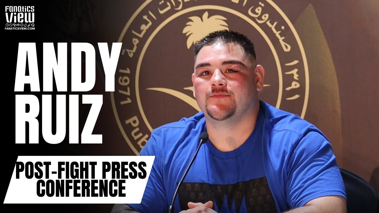 Andy Ruiz Admits to 3 Months of Partying After Loss to Anthony Joshua