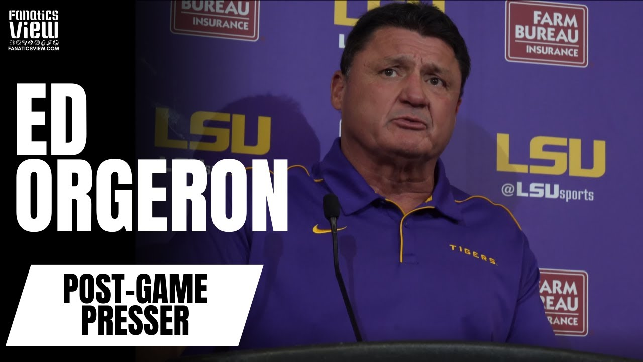 Ed Orgeron on Joe Burrow's LSU Career: