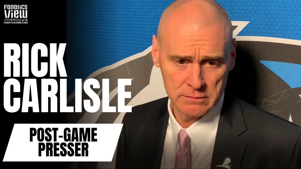 Rick Carlisle Calls Luka Doncic's Peformance vs. Phoenix Suns