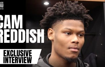 """Cam Reddish Advice to Zion Williamson on NBA Debut: """"Just Have Fun With It"""""""
