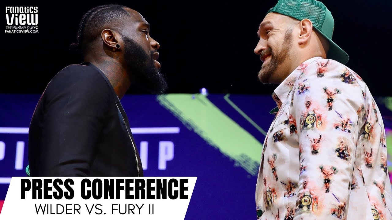 Deontay Wilder & Tyson Fury both promise knockouts in anticipated rematch