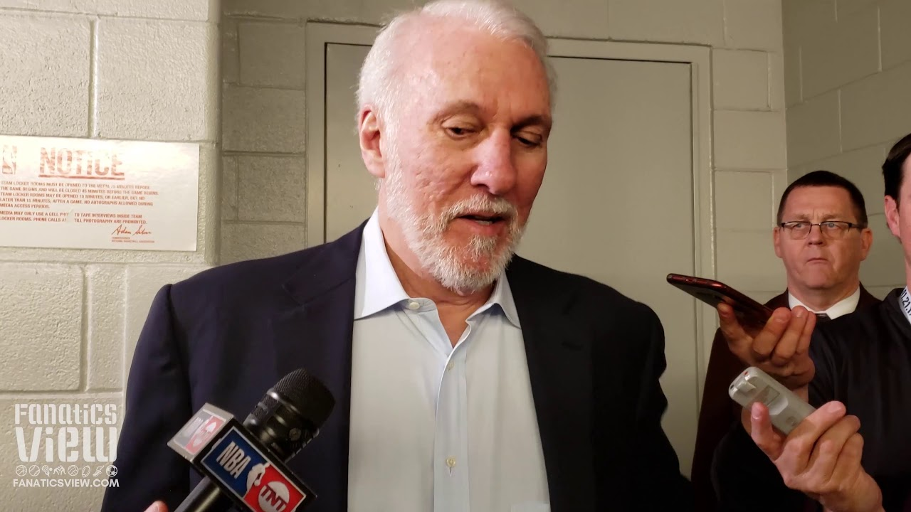 Gregg Popovich Compares Luka Doncic Vision to Magic Johnson