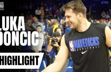 Luka Doncic Shares an Amazing Moment with Philadelphia 76ers Fan