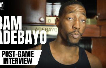 Bam Adebayo Throws Shade at Jimmy Butler & Goran Dragic in Post-Game Interview