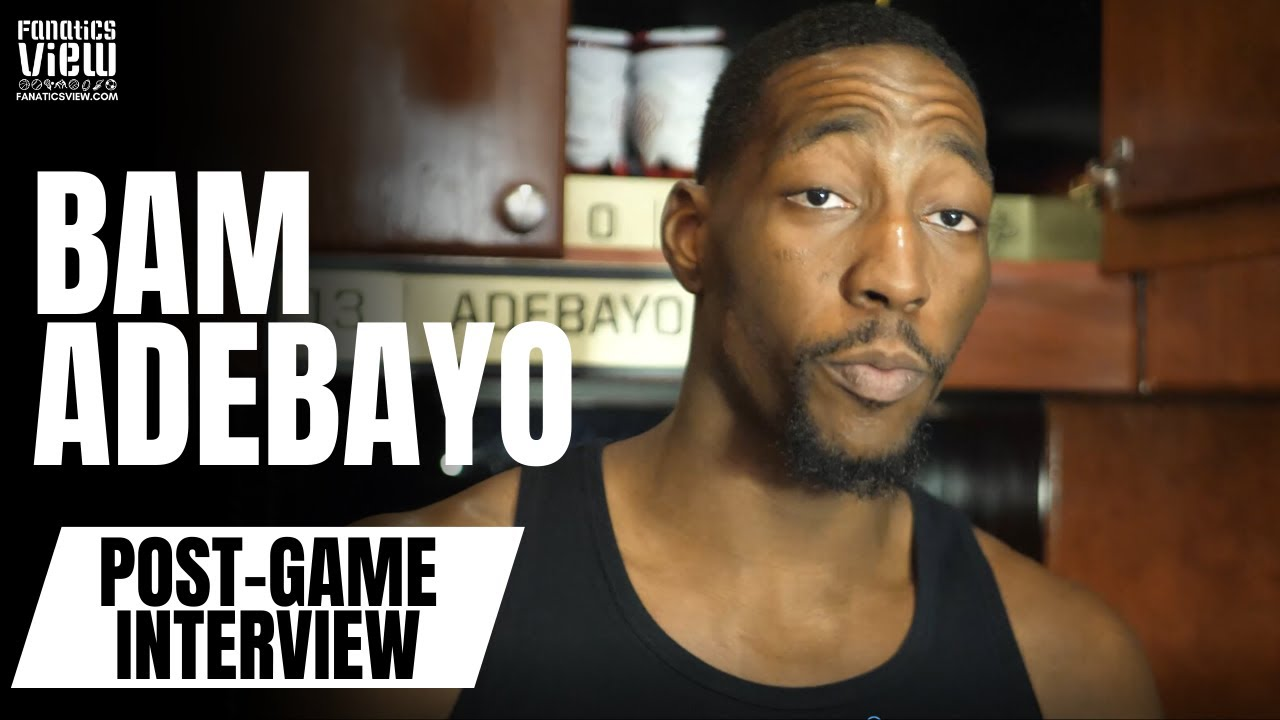 Bam Adebayo Throws Shade at Jimmy Butler & Goran Dragic in Post-Game Interview