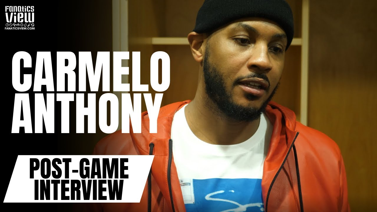 Carmelo Anthony says Dallas Should Appreciate