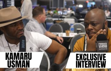 "Kamaru Usman on Jorge Masvidal: ""Be Careful What You Ask For"" (FV Exclusive)"