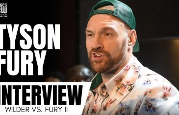 Tyson Fury wants Brock Lesnar after he 'Knocks Out Deontay Wilder'