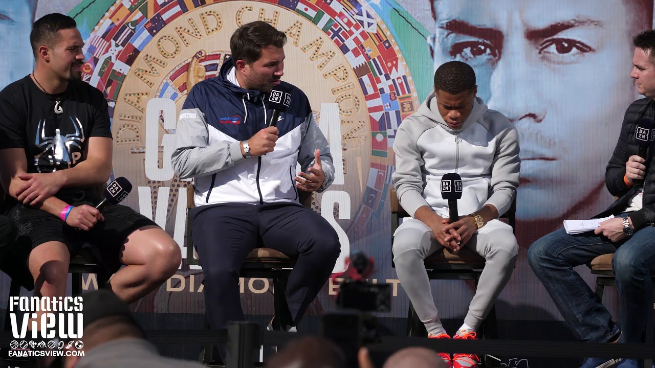 Eddie Hearn '100% sure' Anthony Joshua vs. Tyson Fury will get made