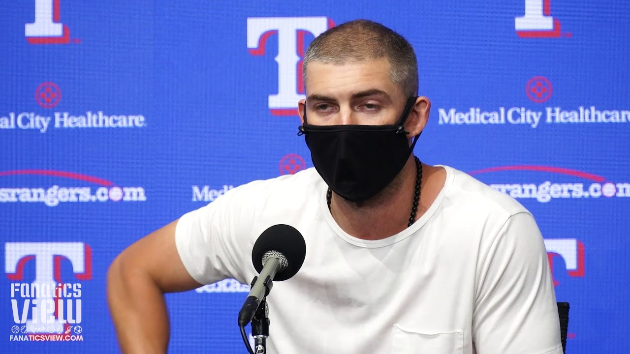 Mike Minor on Rangers' starting rotation: 'We rank in the top.'