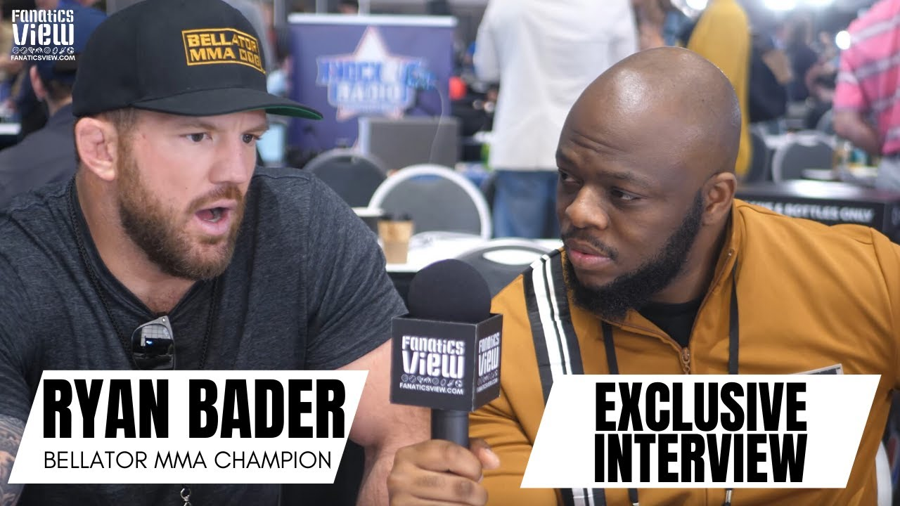 Ryan Bader 'would love' a cross-promotion fight with Daniel Cormier