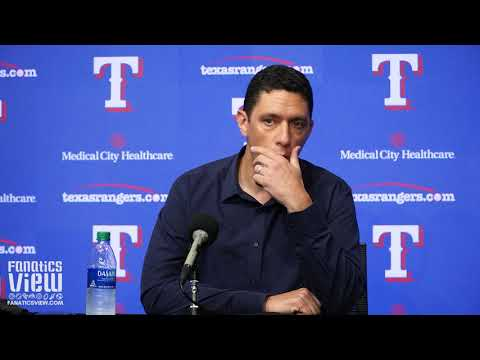 Jon Daniels Addresses Fernando Tatis/Texas Controversy & Rangers Future With Trade Deadline