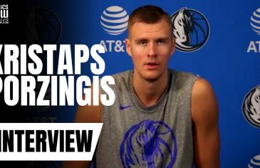 Kristaps Porzingis talks 'Tiger King', Luka Doncic, Mavs Practices, Decision to Play & NBA Restart