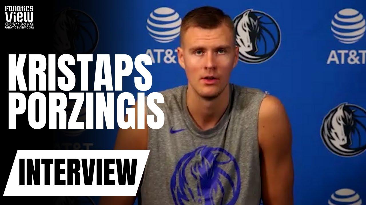 Kristaps Porzingis talks 'Tiger King', Luka Doncic, Mavs Practices, Decision to Play & NBA Restart