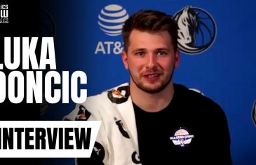 "Luka Doncic talks Michael Jordan's 'Last Dance', ""Being Out of Shape"" Report & NBA Restart"