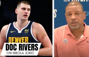 "Doc Rivers Calls Nikola Jokic ""Best Passing Big Man Ever"""