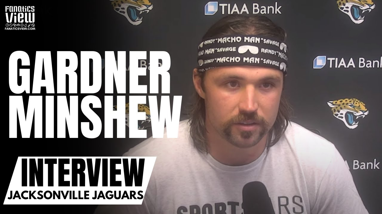 Gardner Minshew Reacts to Jaguars Week 1 Upset Win vs. Colts in a 'Macho Man' Randy Savage Bandanna