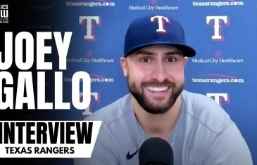 Joey Gallo Details How Impressed He Is With Rangers Rookie Leody Taveras