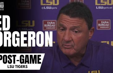 LSU head coach Ed Orgeron Accepts Blame for Mississippi State Surprise Victory in Death Valley