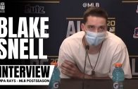 "Blake Snell on Rays' Game 1 loss to Yankees: ""It Was a Weird Night For Me"""