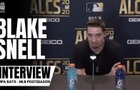"Blake Snell reacts to Tampa's ""Huge Win"" in ALCS Game 1 vs. Houston Astros"