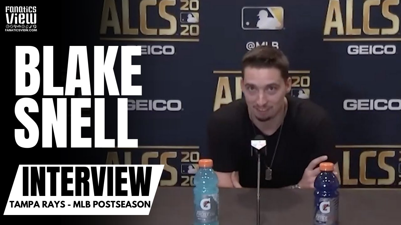 Blake Snell reacts to Tampa's