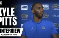 Florida Gators' Kyle Pitts Responds to Questions After a Solid Victory Over South Carolina