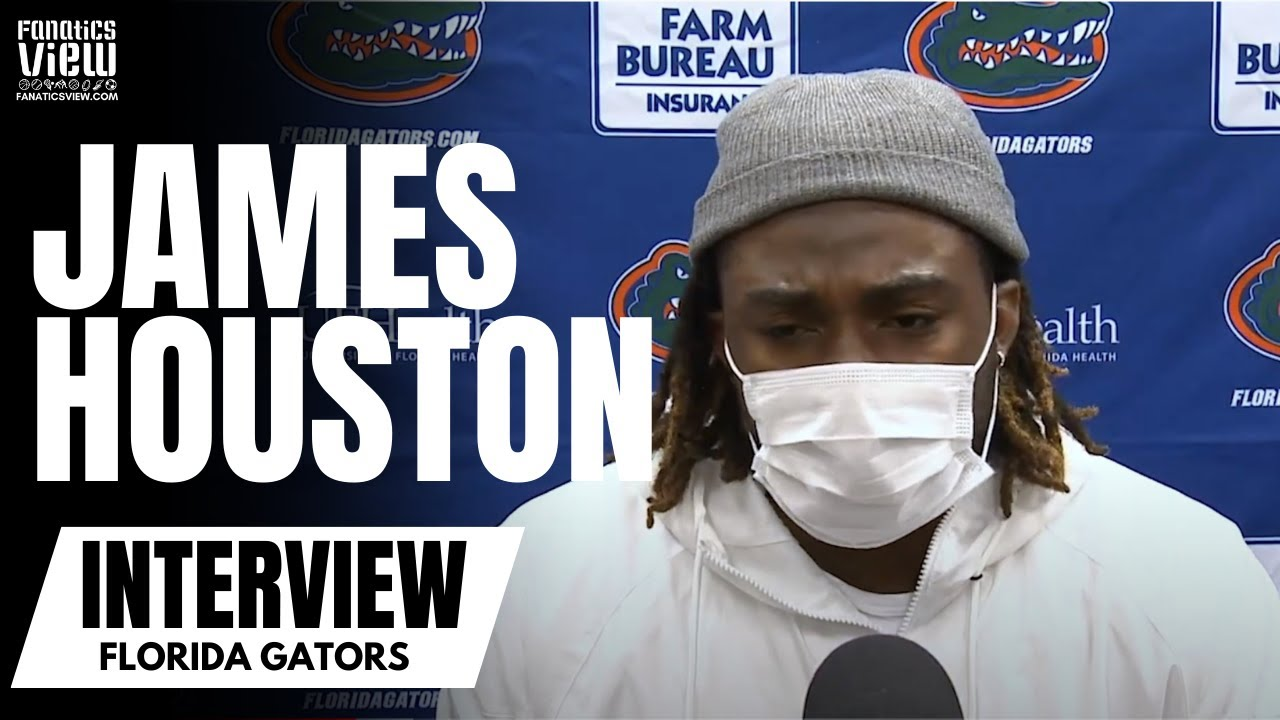 Florida's James Houston IV Reacts to Loss Against Texas A&M & Talks Defensive Issues