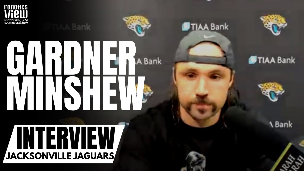 Gardner Minshew Reacts to Jaguars Loss vs. Houston Texans & Offensive Struggles