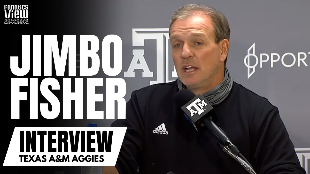 Jimbo Fisher Talks Player Opt Outs, Coach/Player Strategy & Roster Updates