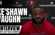 Ke'Shawn Vaughn Discusses Scoring His First Career NFL Touchdown & Tom Brady Having 20 Years On Him