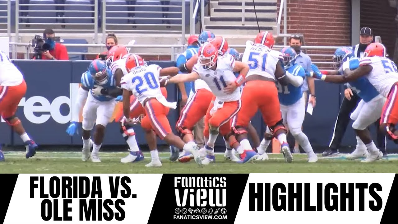 Kyle Pitts 4 Touchdowns Lead Gators Over Rebels - Florida Gators vs. Ole Miss Rebels Game Highlights
