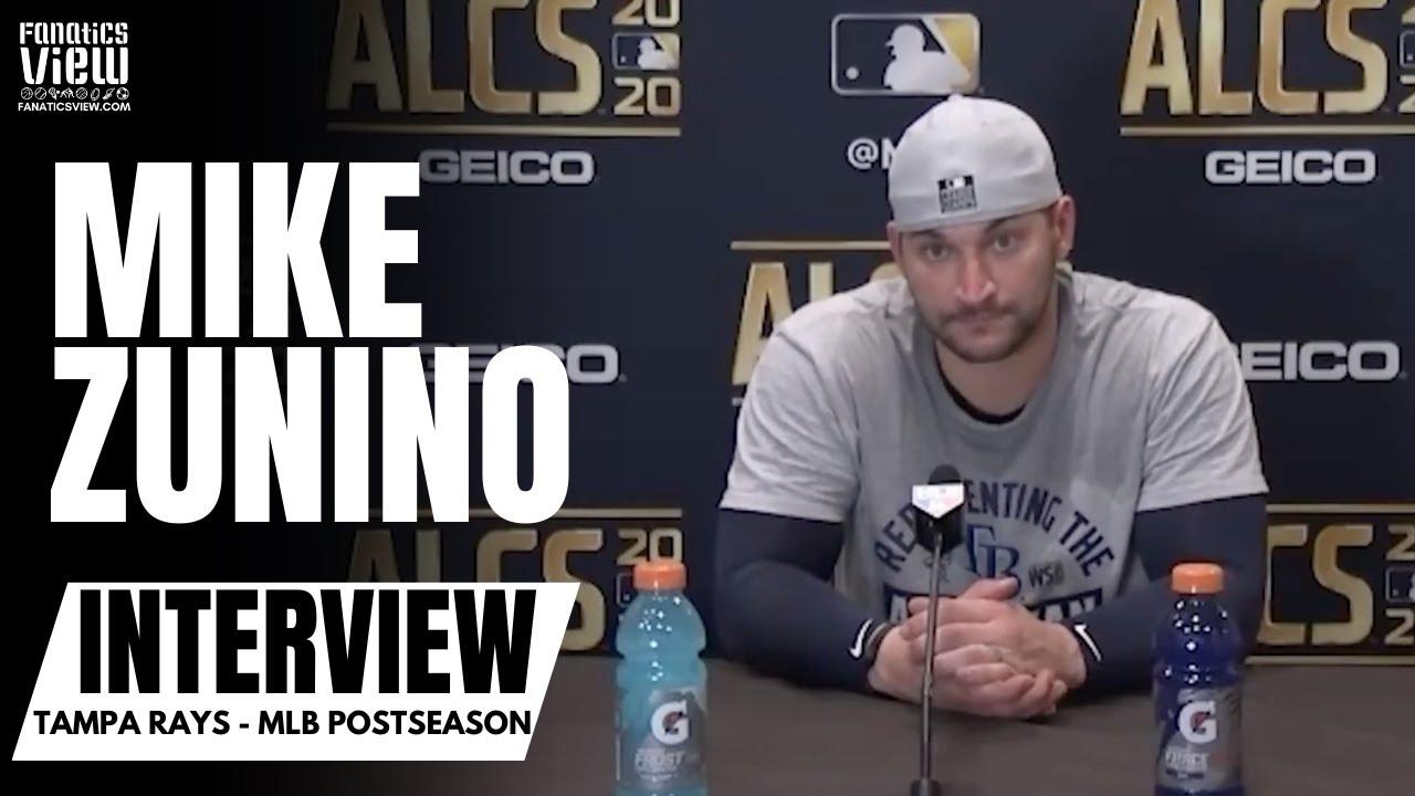 Mike Zunino on Rays making World Series: