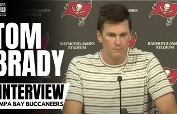 Tom Brady talks Rob Gronkowski Scoring for First Time in 679 Days & Reviews Bucs Win vs. Packers