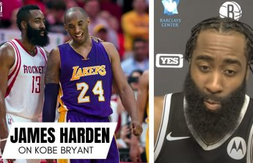 "James Harden Remembers First Time Playing Kobe Bryant: ""I Was Talking Smack. Not Knowing…."""