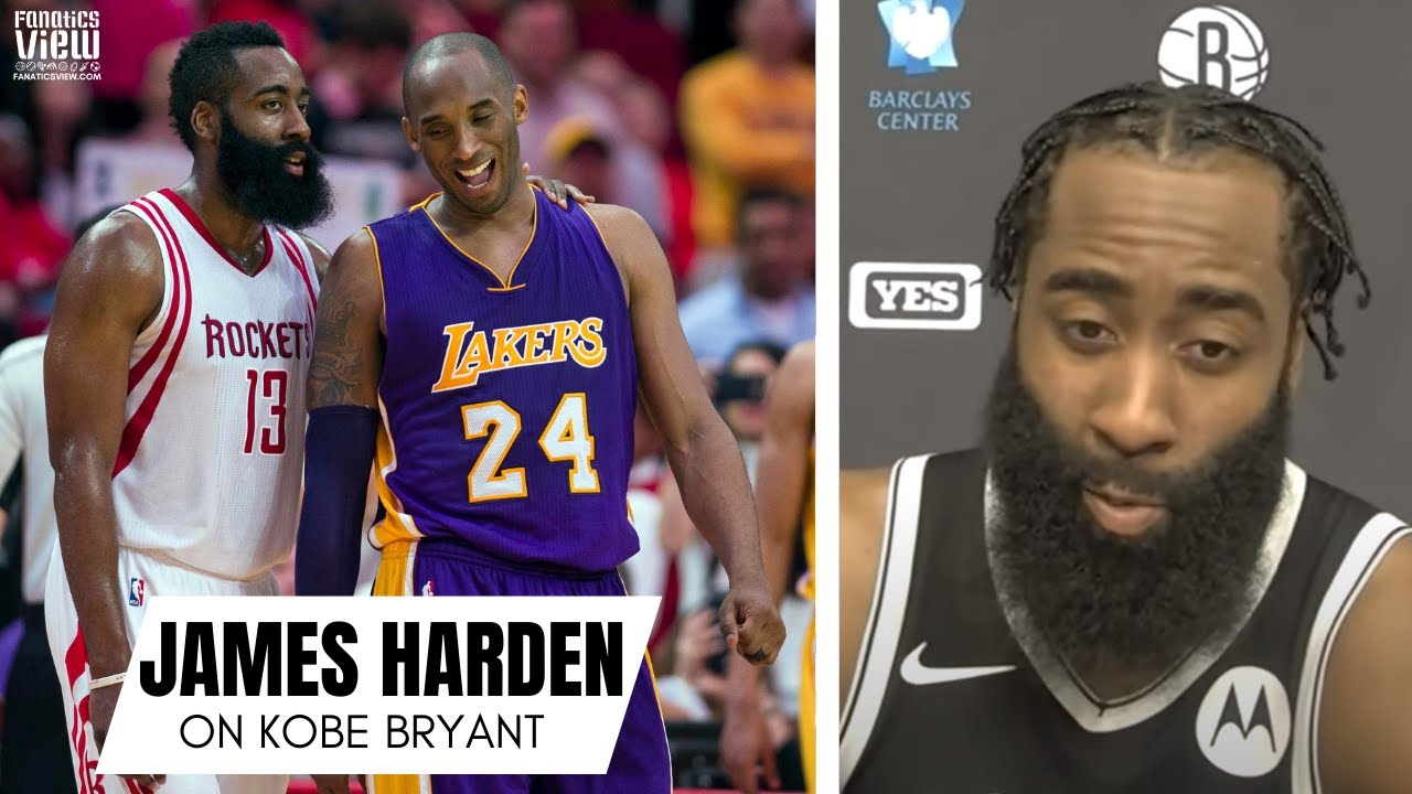 James Harden Remembers First Time Playing Kobe Bryant: