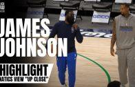 "James Johnson Works on 3-Point Shot With Dallas Mavs God Shammgod | Fanatics View's ""Up Close"""