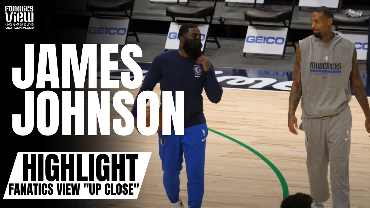 James Johnson Works on 3-Point Shot With Dallas Mavs God Shammgod | Fanatics View's