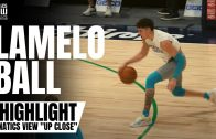 "LaMelo Ball Displays Handle, 3-Point Shot & Works on Driving in On-Court Work Out | ""Up Close"""
