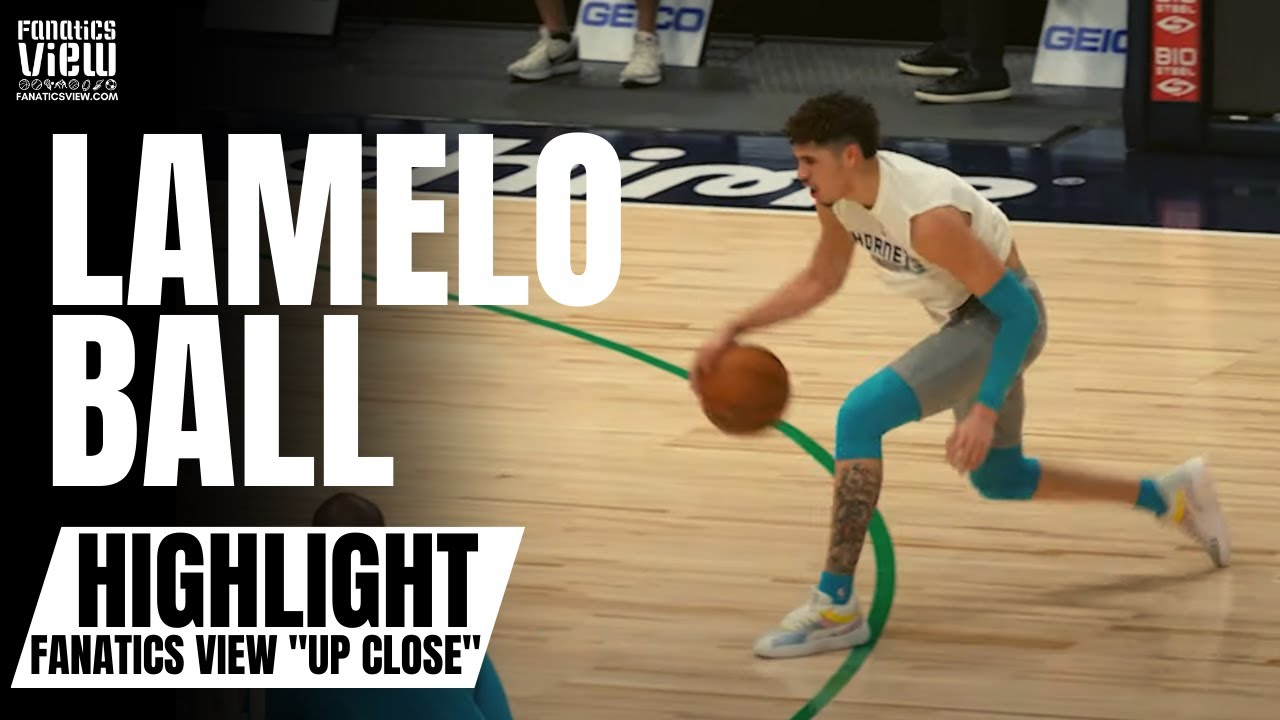 LaMelo Ball Displays Handle, 3-Point Shot & Works on Driving in On-Court Work Out |