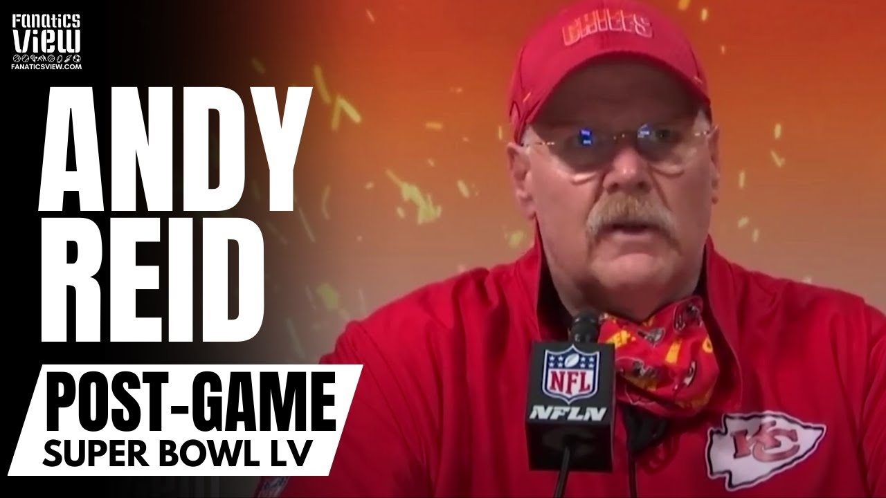 Andy Reid Takes Full Responsibility for Chiefs Super Bowl LV Loss & Responds to Tragic Situation