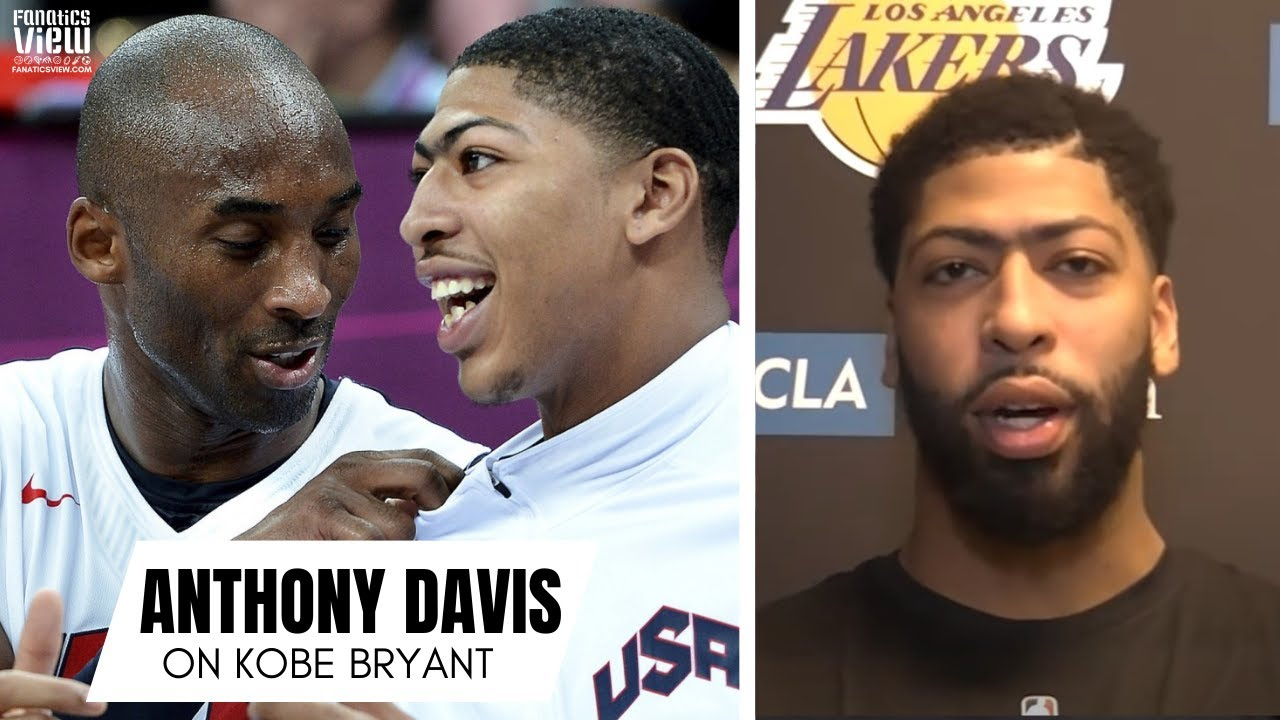 Anthony Davis Remembers Kobe Bryant Shooting a Left Handed 'Shimmy' Shot While Injured