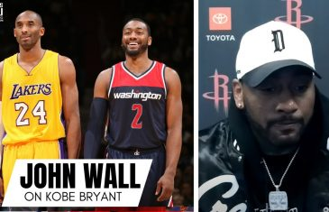 "John Wall Remembers Kobe Bryant & Block on Kobe as a Rookie: ""The 1 year Anniversary is Tough"""