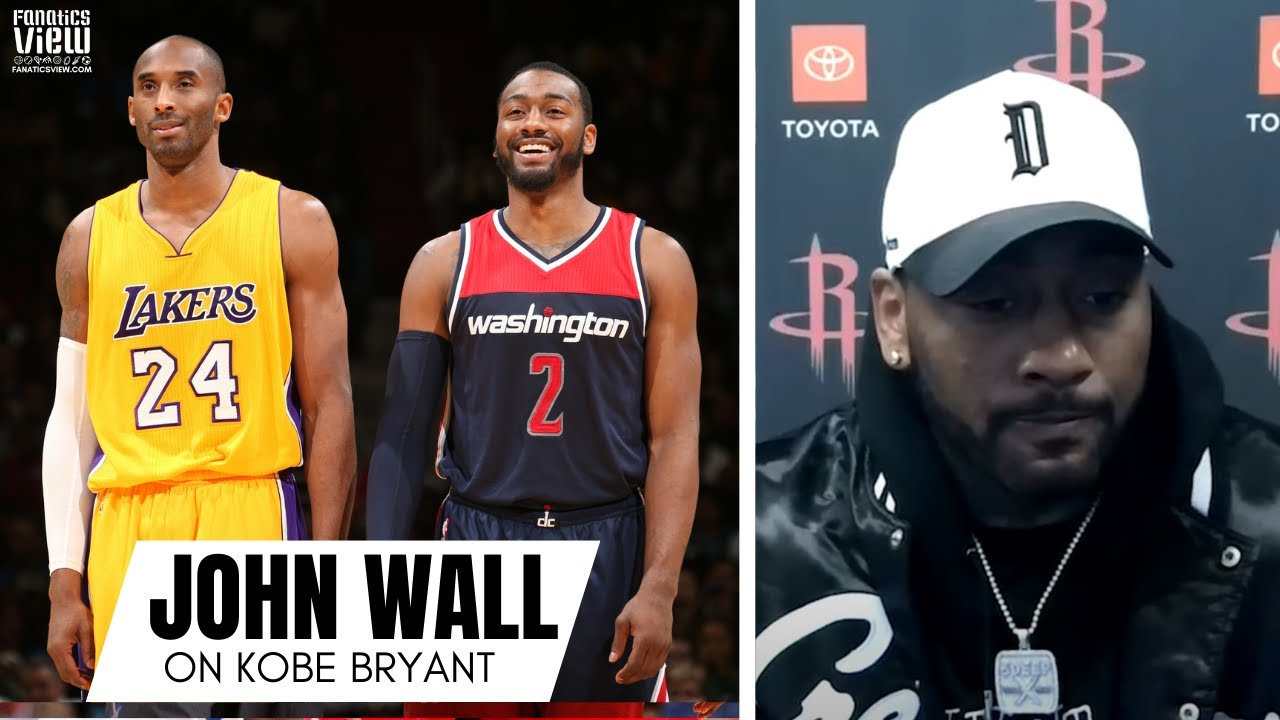 John Wall Remembers Kobe Bryant & Block on Kobe as a Rookie: