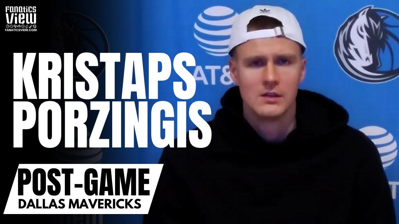 Kristaps Porzingis Candid Reaction to Mavs Struggles: