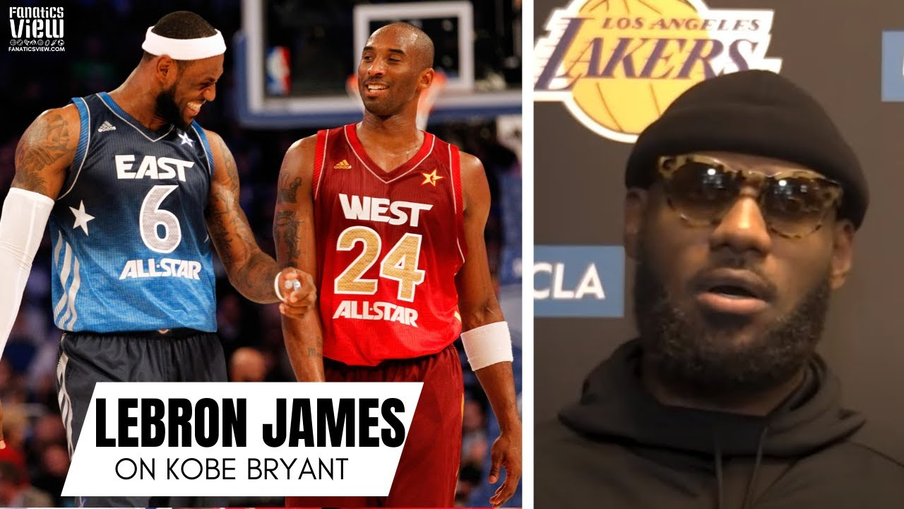 LeBron James Reflects on Kobe Bryant & Playing Kobe for First Time: