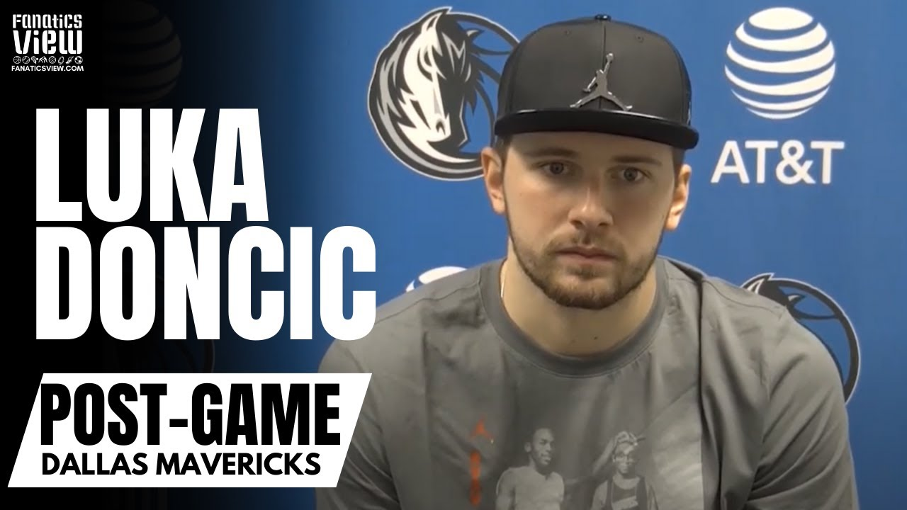 Luka Doncic Reacts to Jalen Brunson Dagger 3 vs. Spurs & Calling Plays for Kristaps Porzingis